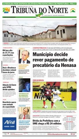 9d9436ea08 Tribuna do Norte - 19 04 2012 by Empresa Jornalística Tribuna do ...