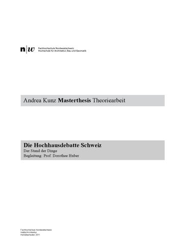 master thesis beispiel fhnw