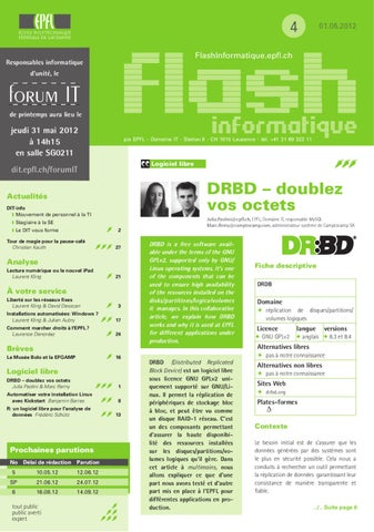 Flash Informatique 2012