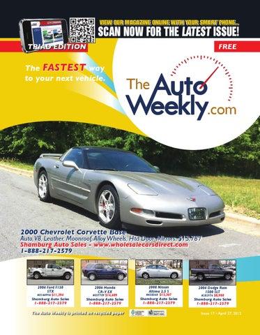 Issue 1217b Triad Edition The Auto Weekly