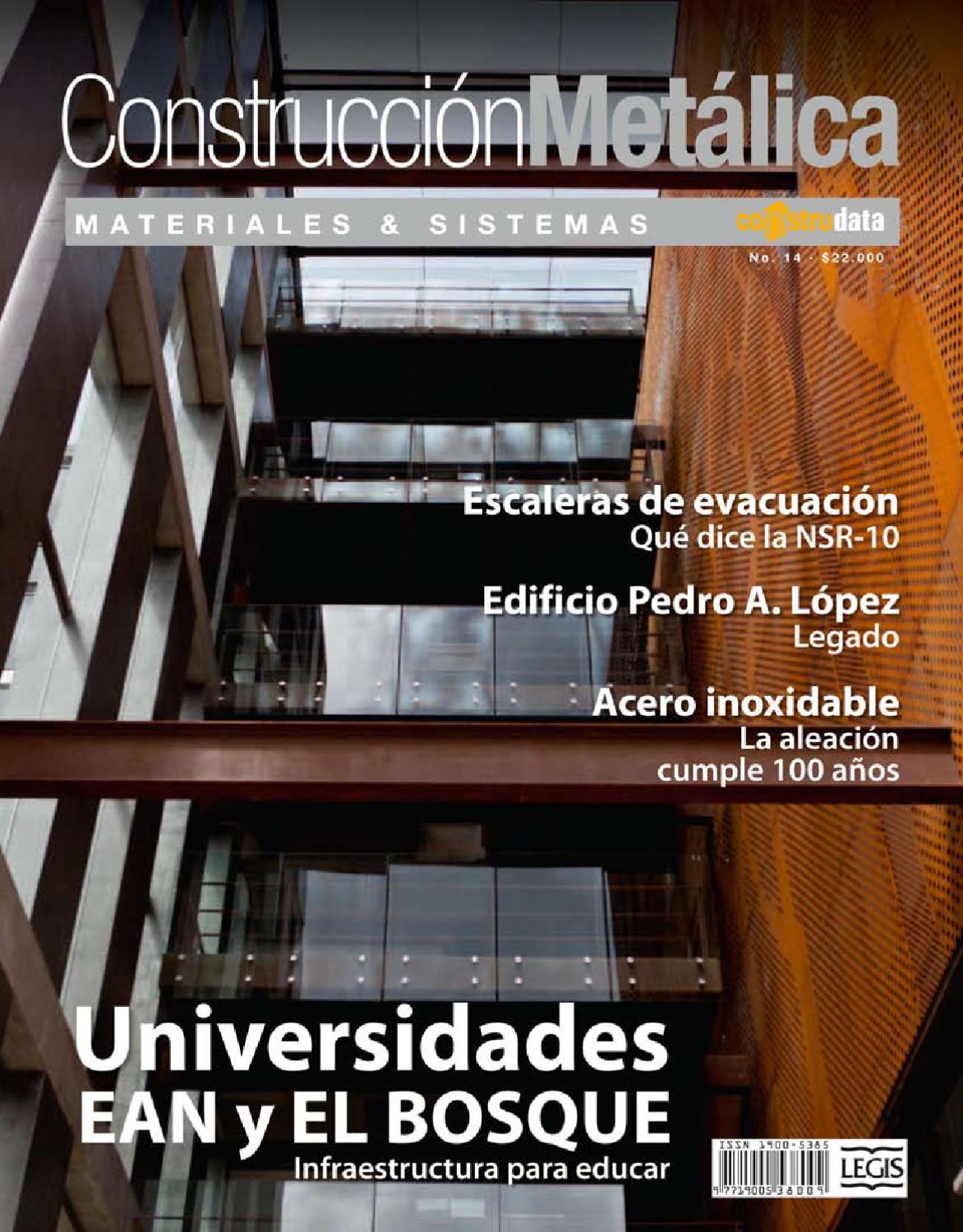Revista Construcción Metálica Edición 14 by Hugo Martínez - issuu