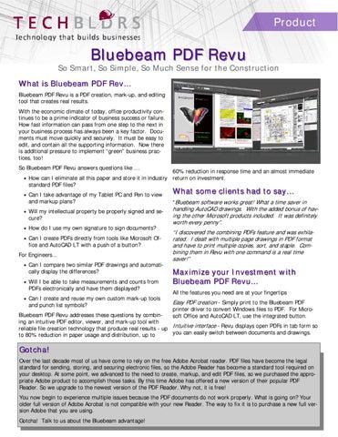 Bluebeam Pdf Printer
