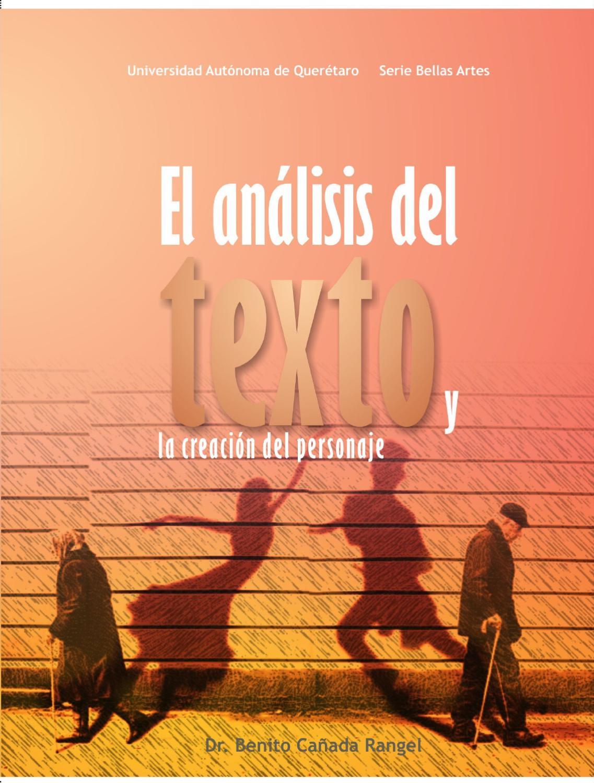 El análisis del texto y la creación del personaje by Editorial  Universitaria UAQ - issuu