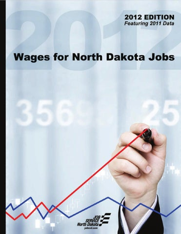 Wages For North Dakota Jobs 2012 By Su Simonson