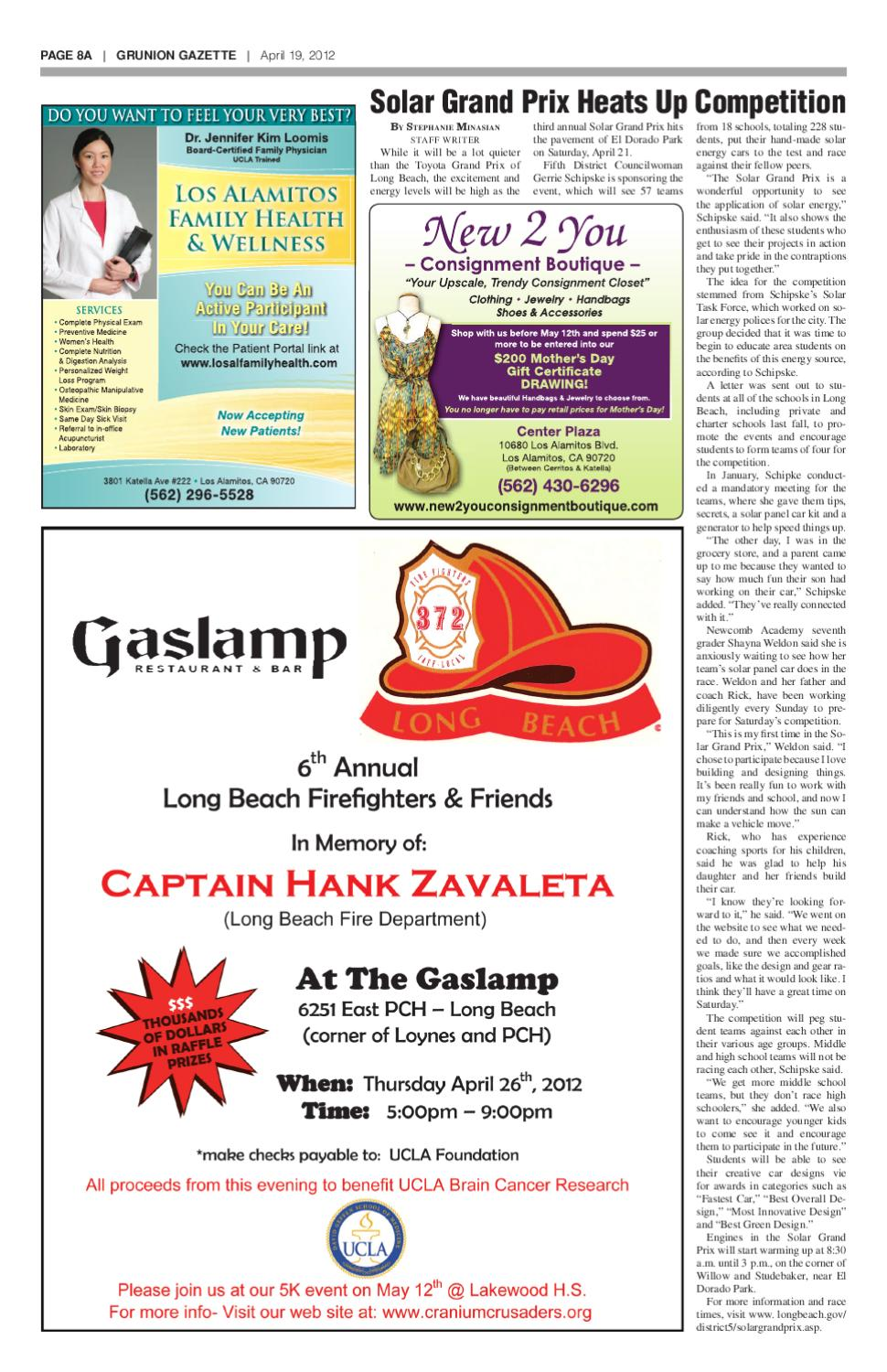 Grunion Gazette 04-19-12 by Jesse Lopez - issuu