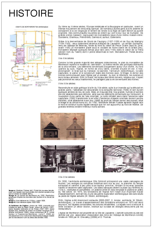 Estrade En Bois Occasion historique de l'abbaye de montherondaniel thomas - issuu