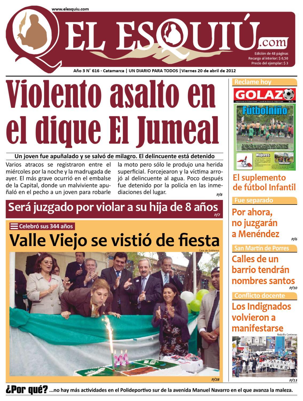 El Esquiu Com Viernes 20 De Abril De 2012 By Editorial El Esqui  # Muebles Yoma Antofagasta