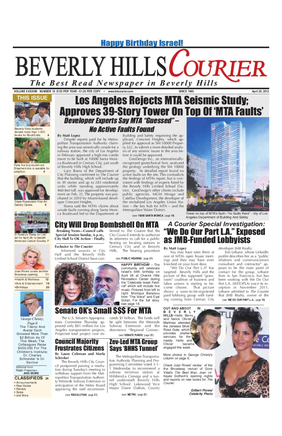 Bh Courier 04 20 12 Edition By Bh Courier Acquisition Llc Issuu