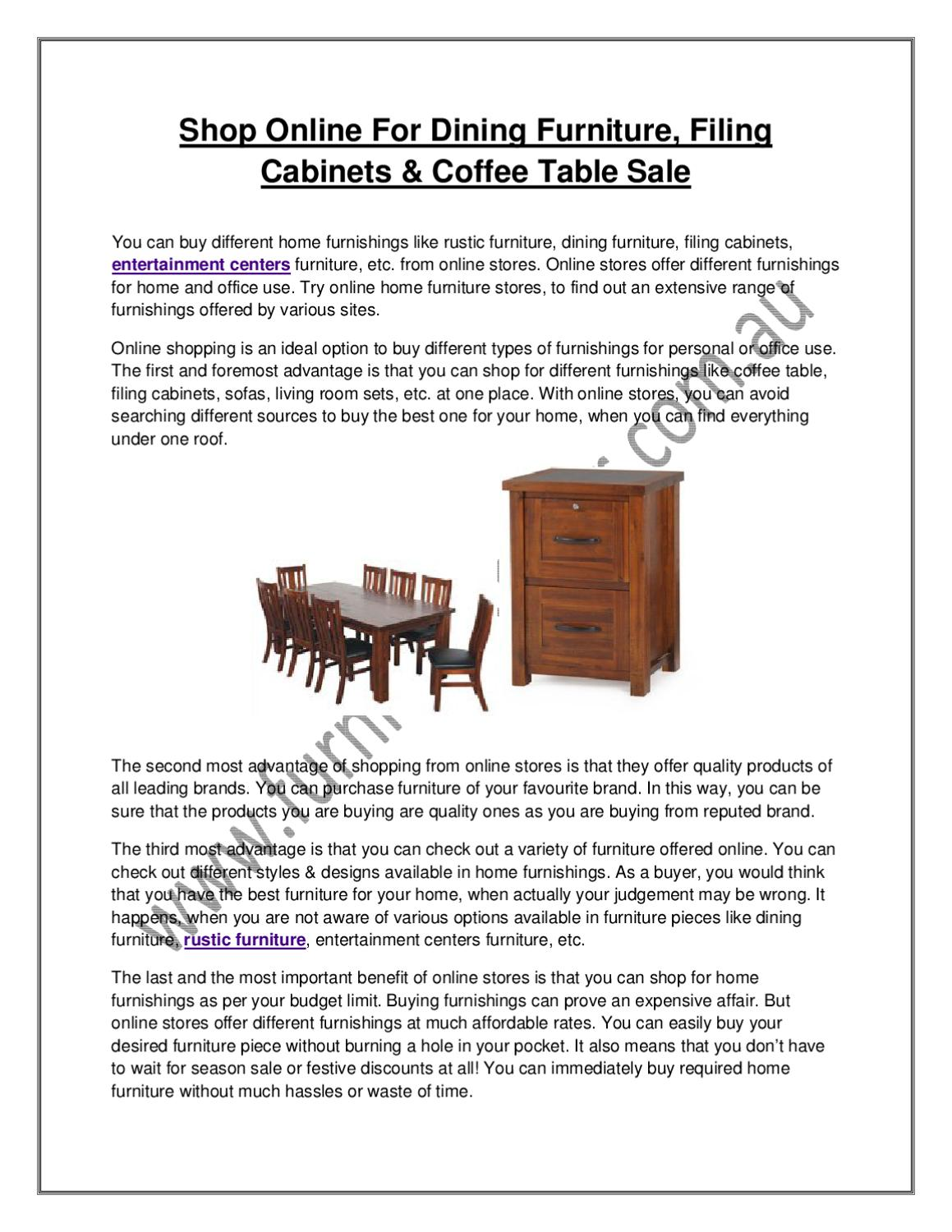 Shop online for dining furniture filing cabinets coffee table sale by the furniture trader issuu