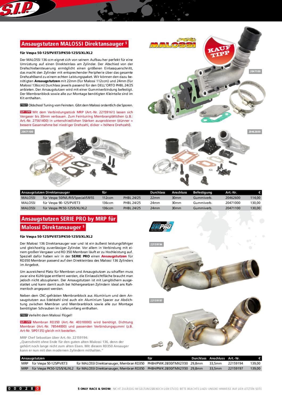 Vespa Manual Katalog By Scooter Center Gmbh Issuu Polini Gas Spontan Untuk 2t