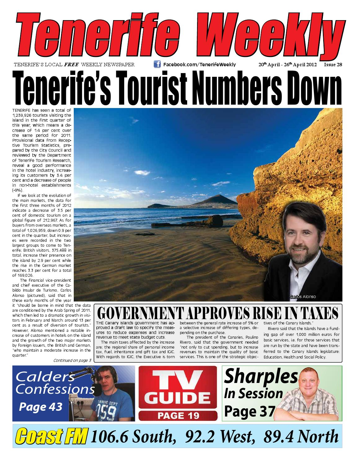7b8a9a15a446f Tenerife Weekly Issue 28 by Tenerife Weekly - issuu