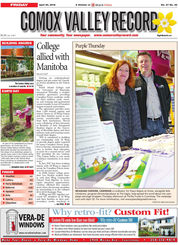 bd82f5b55a53b Comox Valley Record, April 20, 2012 by Black Press Media Group - issuu