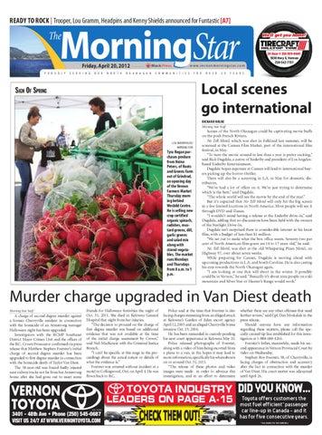 Vernon Morning Star, April 20, 2012 by Black Press Media Group - issuu
