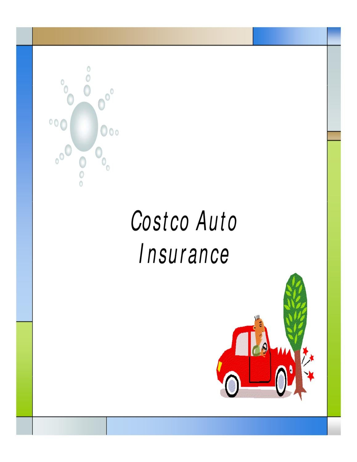 Costco Auto Insurance By John Carson Issuu