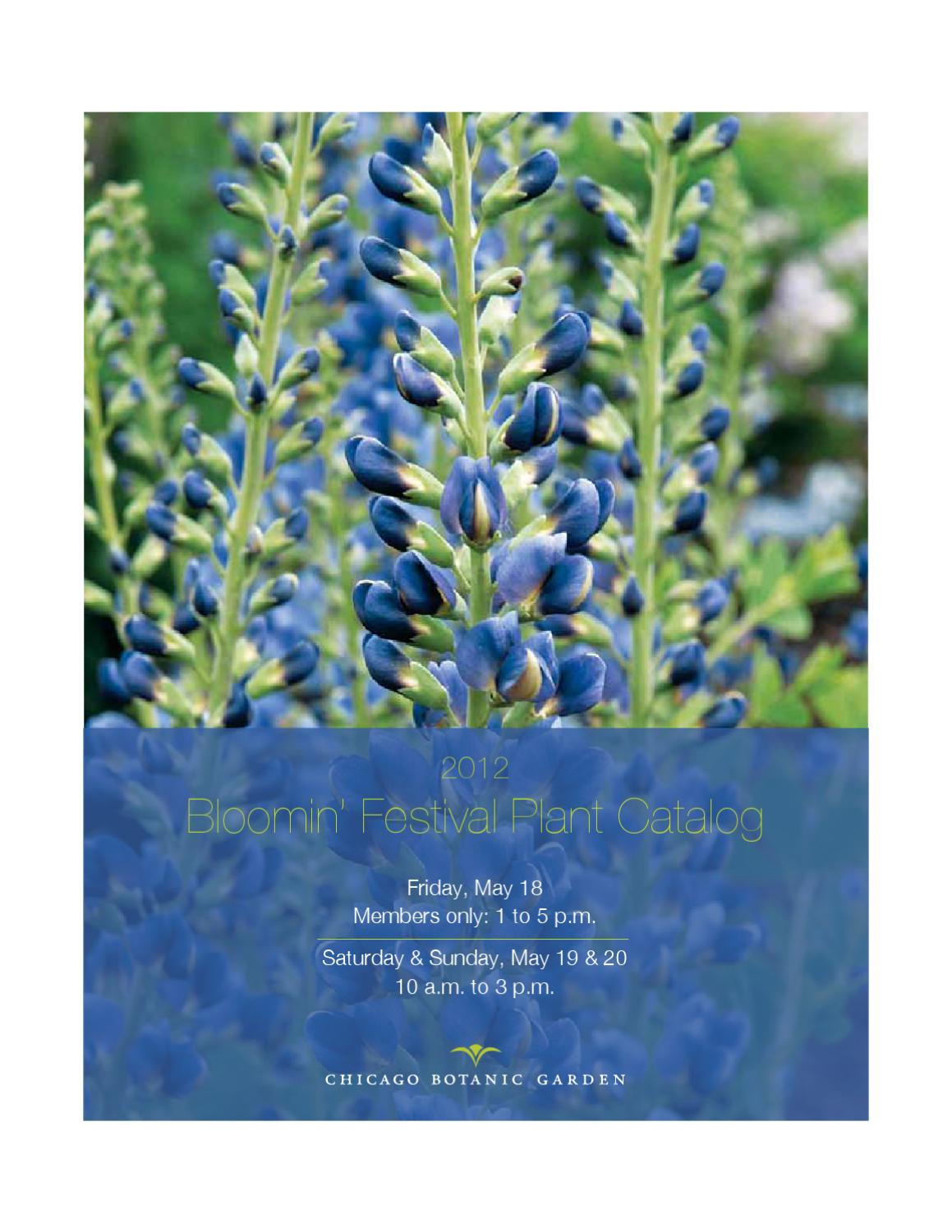 66717838cf5b Bloomin Festival Plant Catalog by Chicago Botanic Garden - issuu