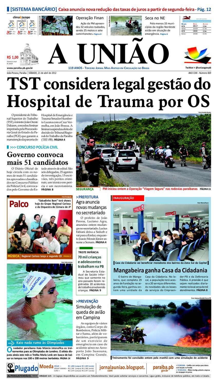 Jornal A UNIÃO by Jornal A União - issuu 3039a34141