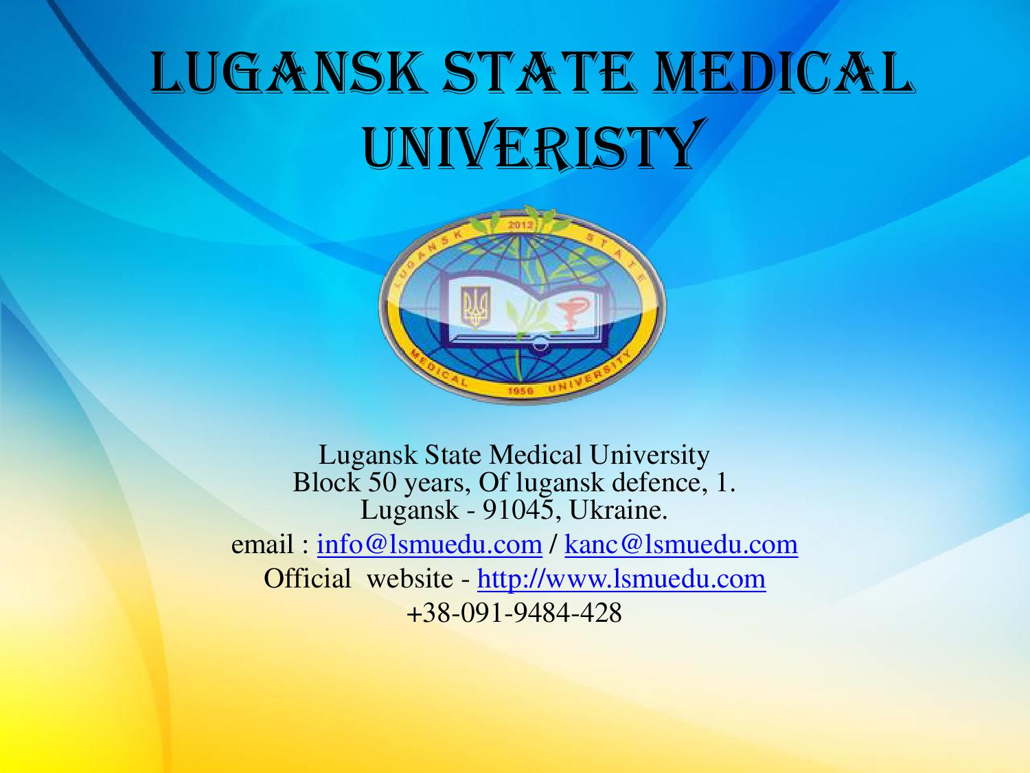 Psychological education in Lugansk region: a selection of sites