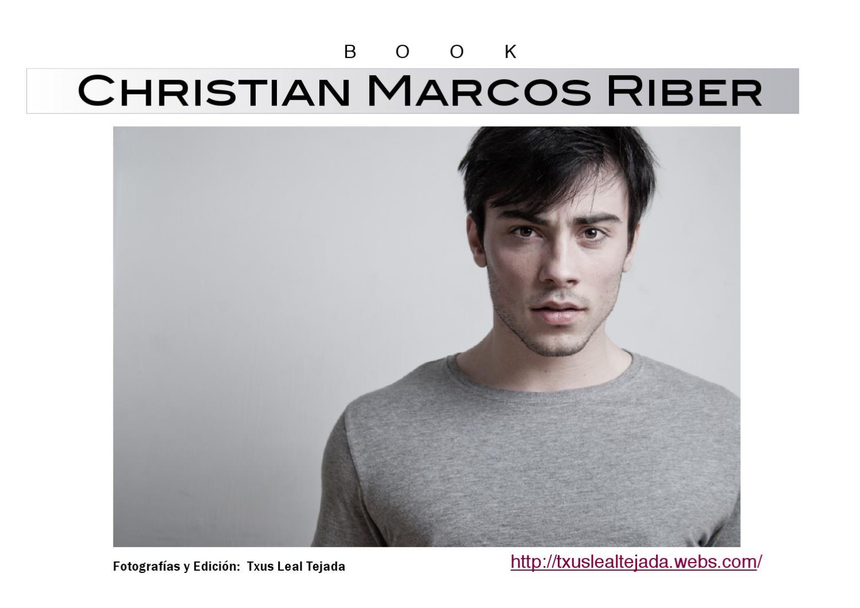 BOOK MODEL CHRISTIAN MARCOS RIBER by txus leal tejada - issuu