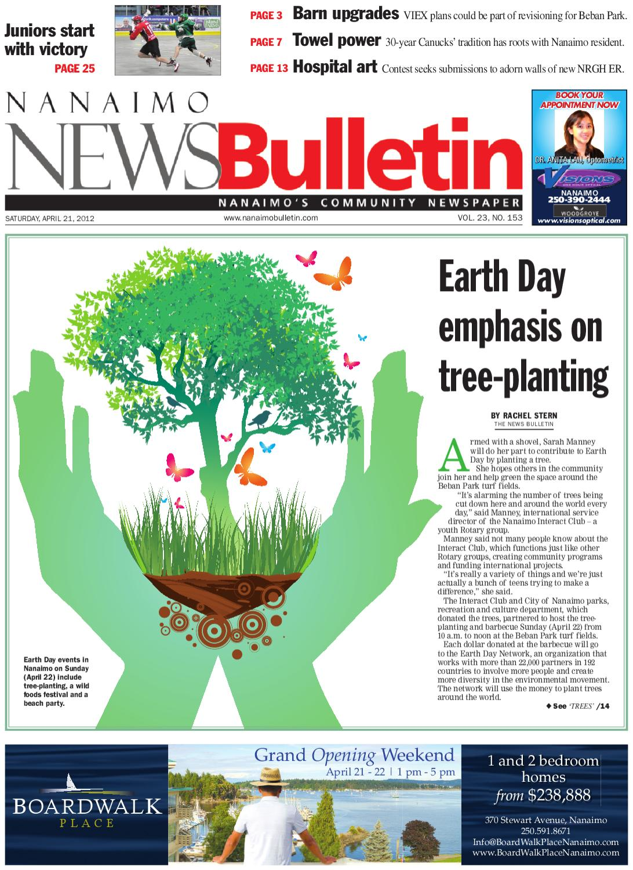 Nanaimo News Bulletin April 21 2012 By Black Press