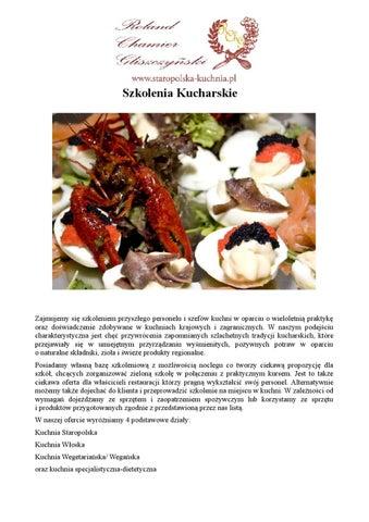 Szkolenia Staropolska Kuchnia Pl By Marakuja Fotoprojekt Issuu