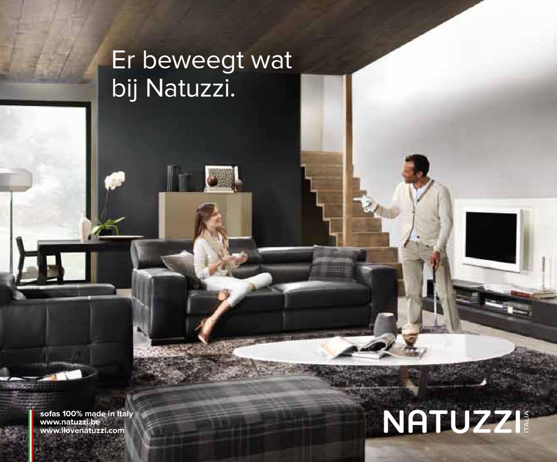 Natuzzi Hoekbank Releve.Natuzzi Lentefolder 2012 By Meubelen Moens Issuu