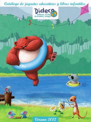 Catálogo de juguetes de tiendas Dideco Madrid primavera verano 2012 ...