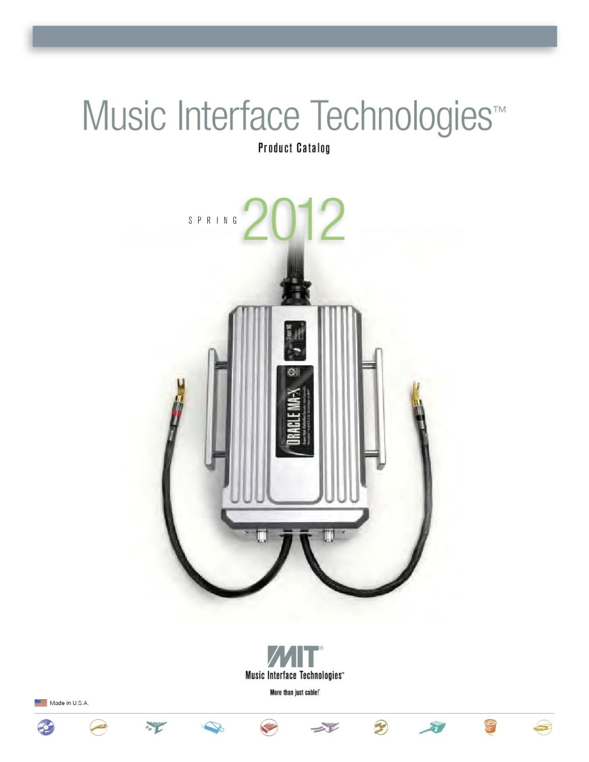 Mit Cables 2012 Product Catalog By Issuu Oracle Switch Wiring