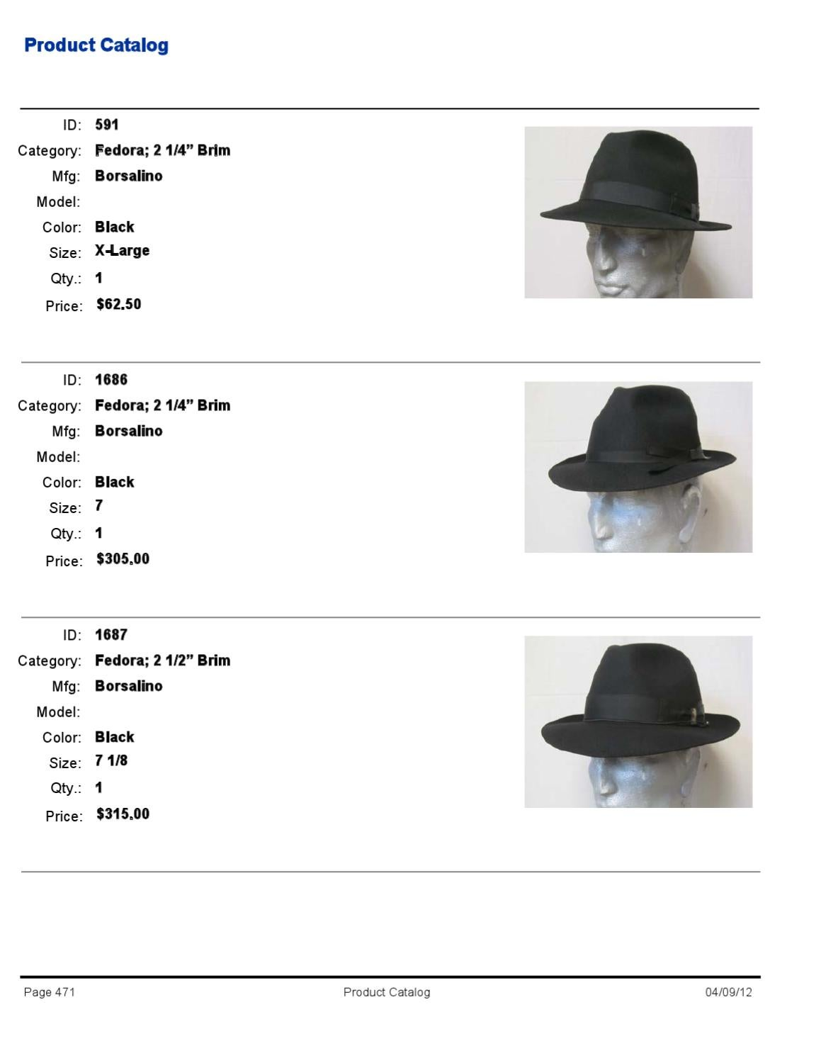 3665bc99049e4 Mens Borsalino by Top Hatters - issuu