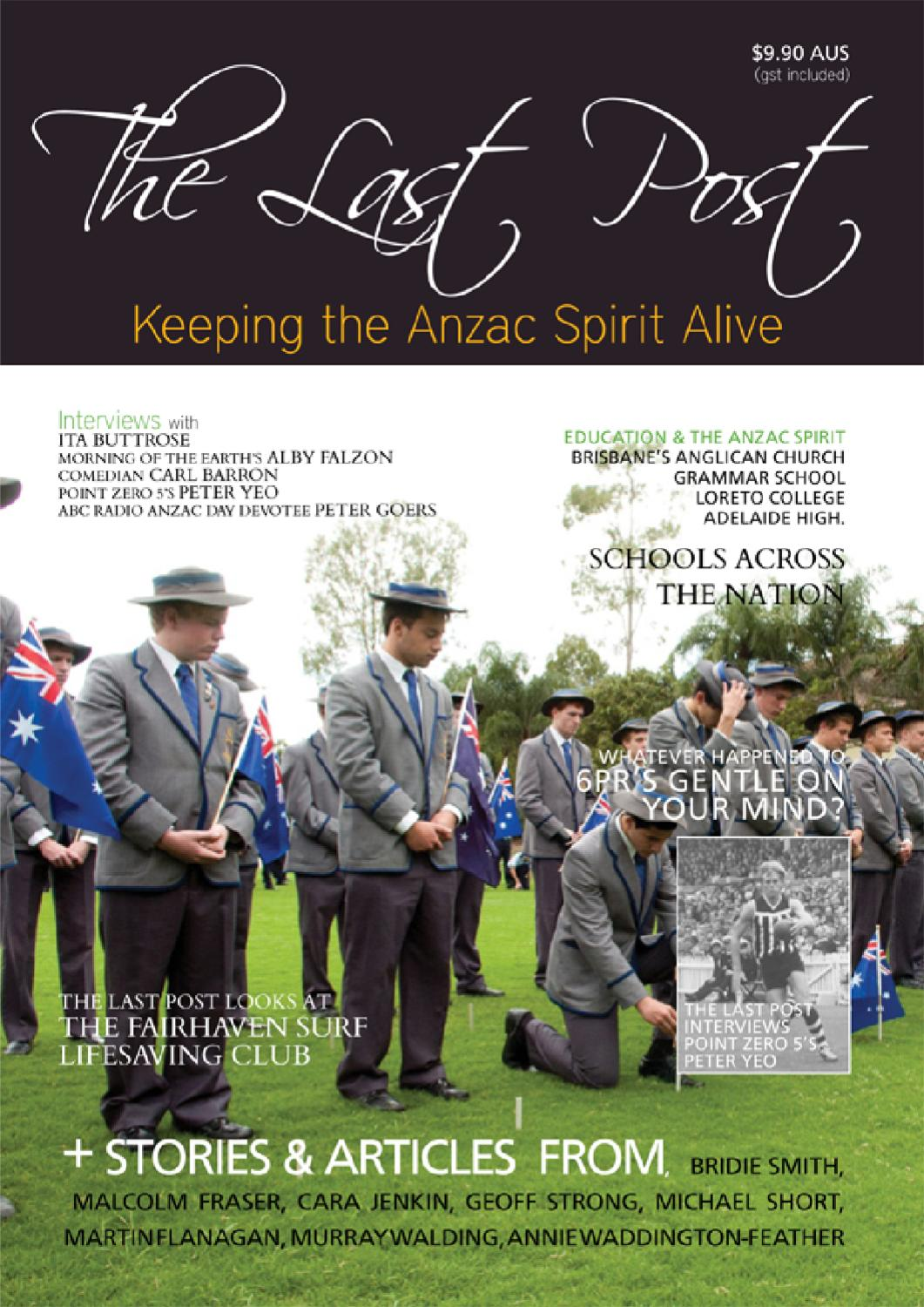 The Last Post Magazine Autumn 2017 Anzac Day Special By Issuu