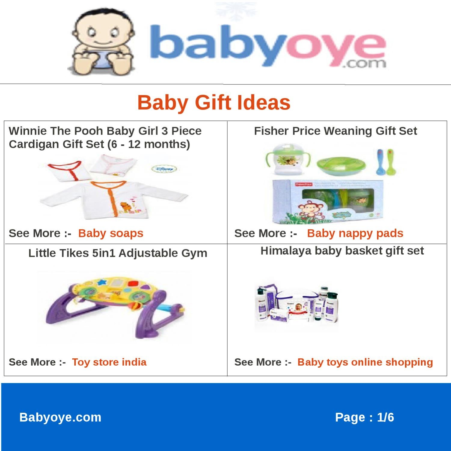 3fc642fe502 Baby Gift Ideas by babyoye team - issuu