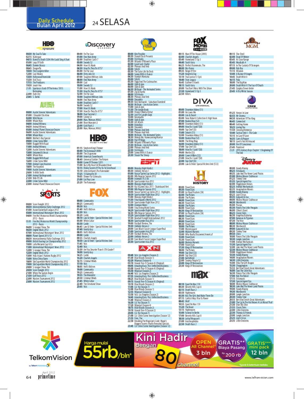 April 2012 - Prime Time TelkomVision