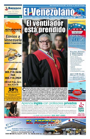 6814464285 miami 19 25 apr 2012 by Grupo Editorial El Venezolano - issuu