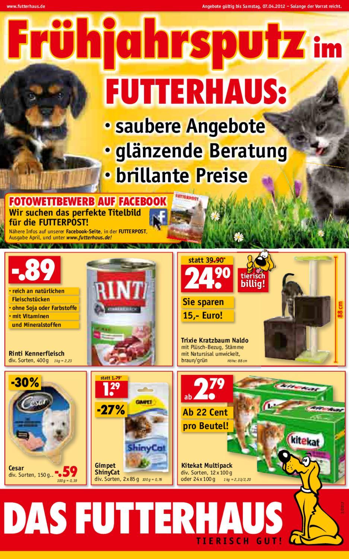Angebote April im Futterhaus Pietzsch by Futterhaus Pietzsch   issuu