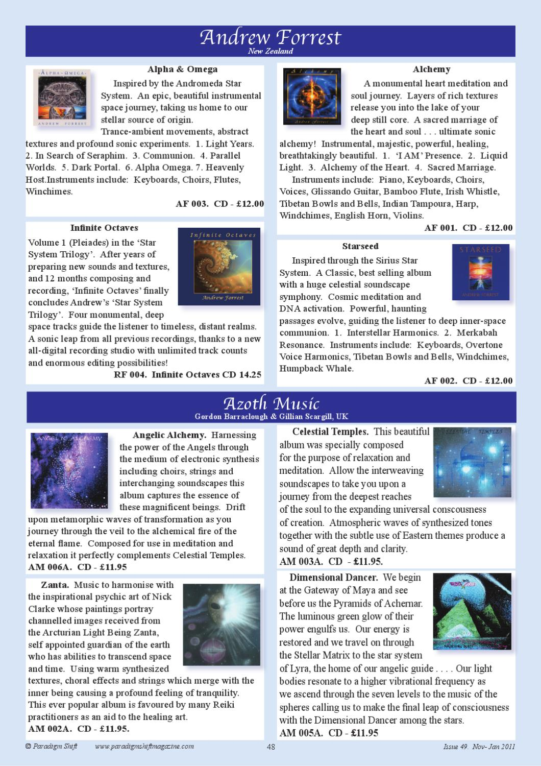 Paradigm Shift Issue 49 by Claire Williams - issuu