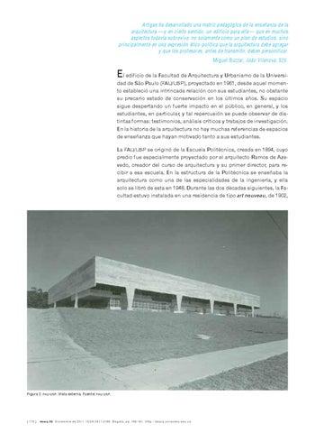 dearq 09 educación en arquitectura by dearq issuuartigas ha desarrollado una matriz pedagógica de la enseñanza de la arquitectura \u2014y en cierto sentido, un edificio para ella\u2014 que en muchos aspectos todavía