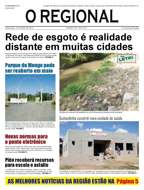 Ed. 819 O Regional PR by O Regional PR - issuu 8d52d20ecd656