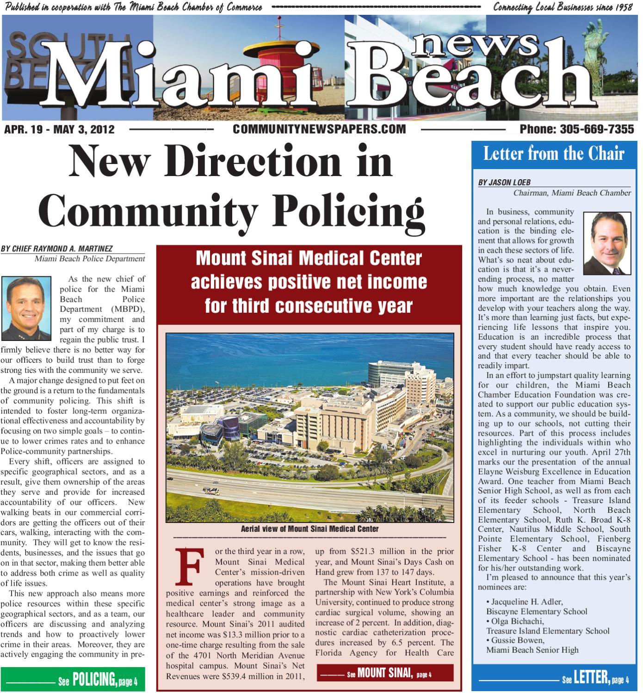 Miami Beach News 4 19 2012 by Community Newspapers - issuu