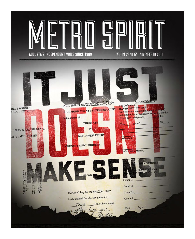 Metro Spirit 11.10.2011 by Metro Spirit - issuu