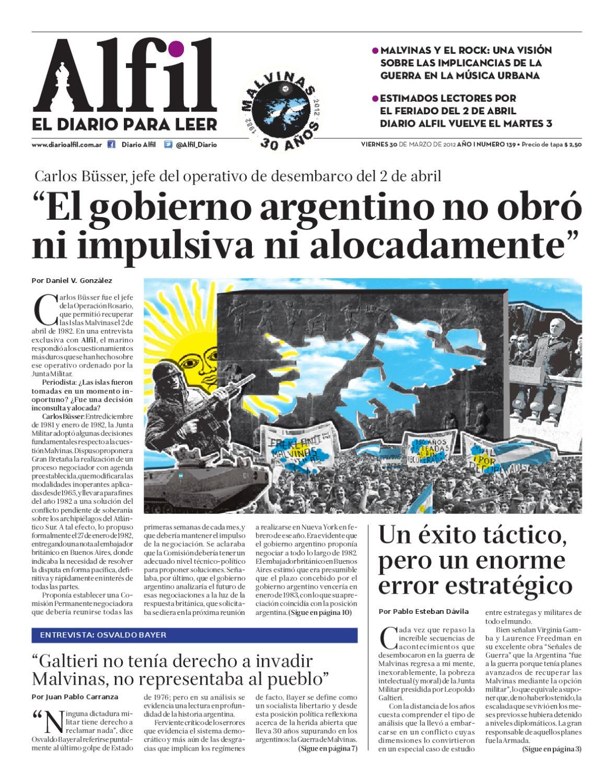 Alfil edicion 139 by Alfil diario - issuu