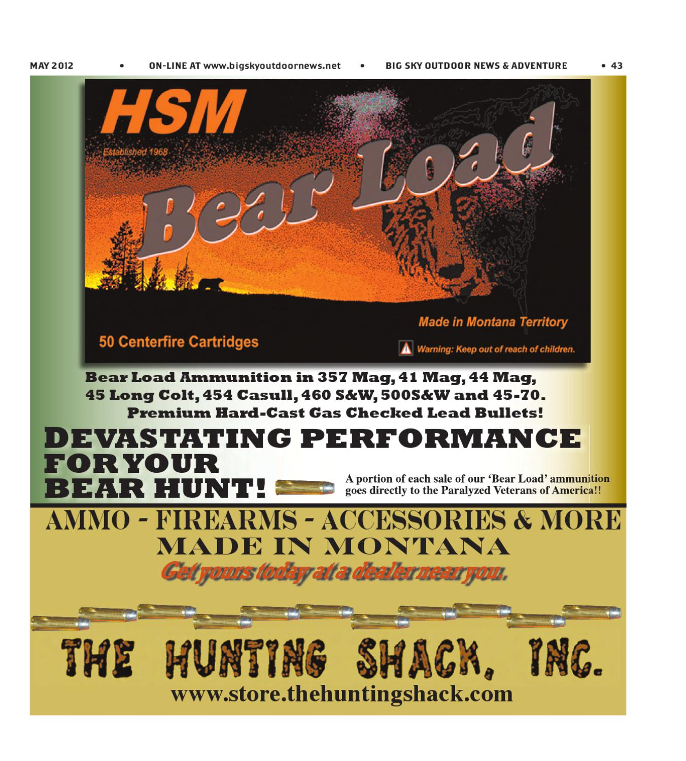 Big Sky Outdoor News & Adventure - May 2012 by Amy Haggerty
