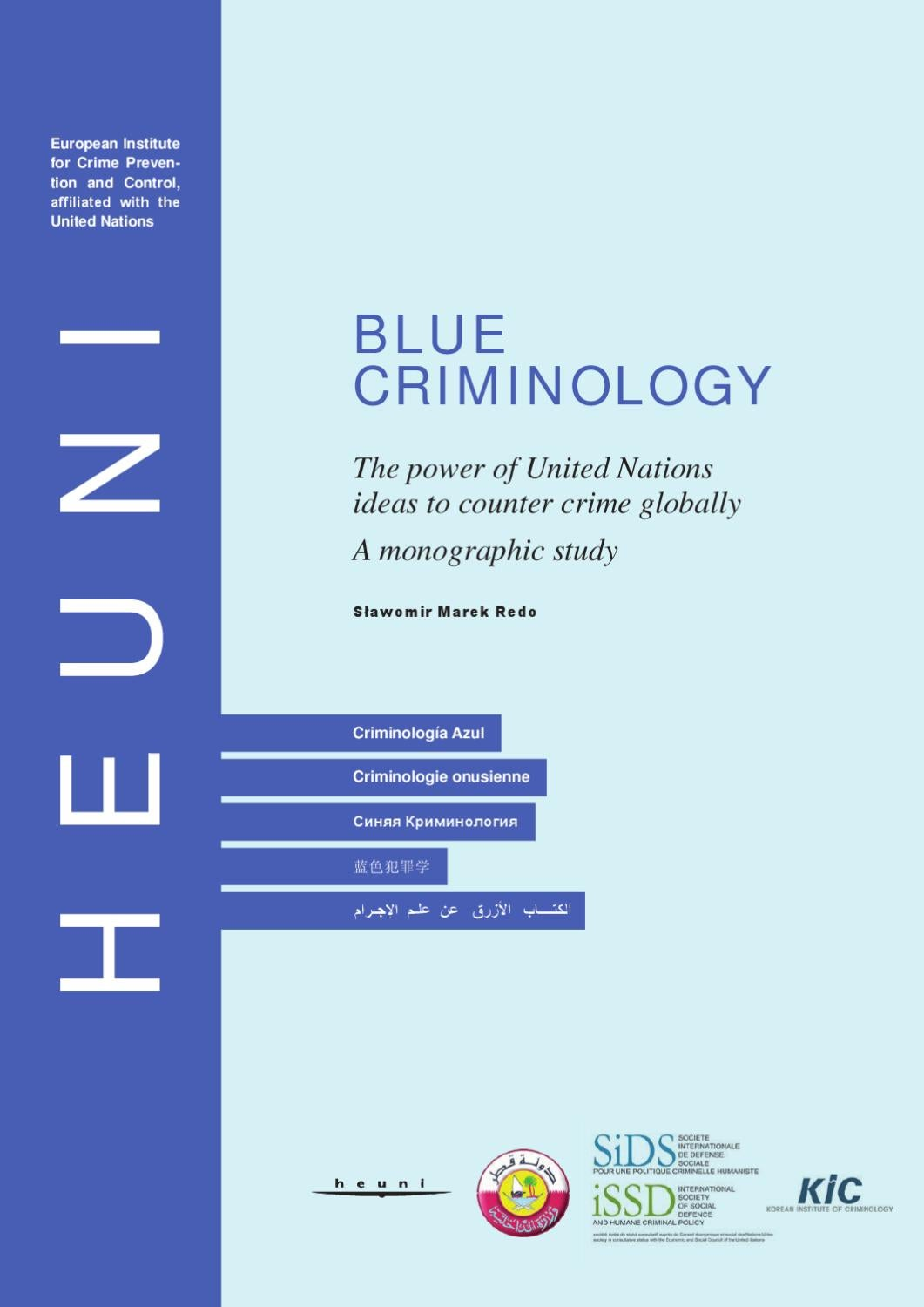 96b548edf783bb Blue Criminology. The power of United Nations ideas to counter crime  globally. A monographic study. by Sławomir Redo - issuu
