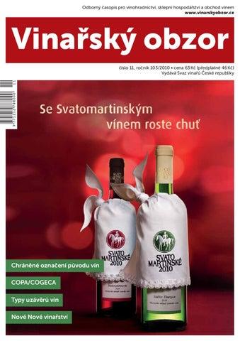 Vinařský obzor 11 2010 by Časopis Vinařský obzor - issuu 2a4bad0987