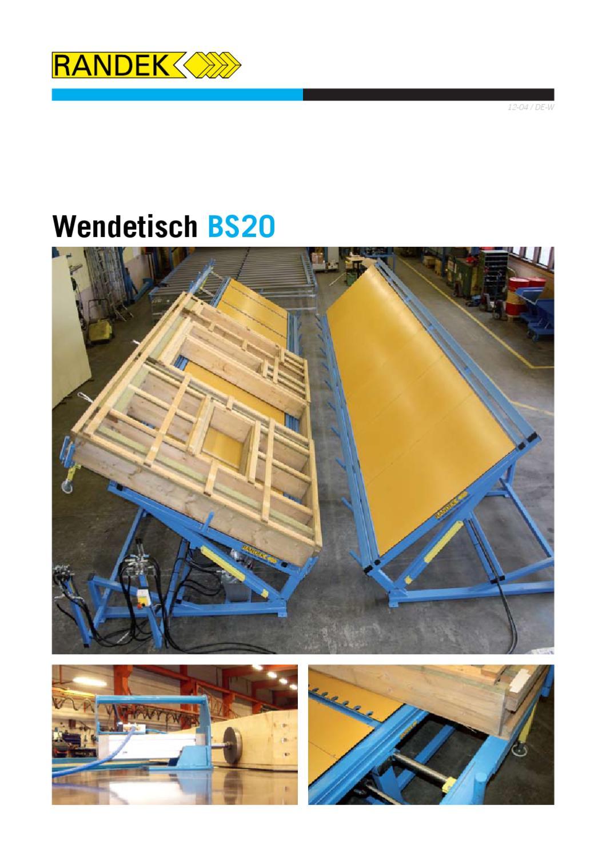 Wendetische by Randek - issuu