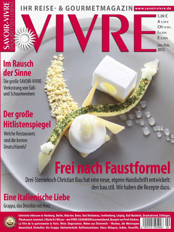 SAVOIR-VIVRE by go! Pressebüro - issuu