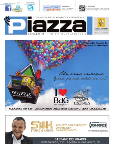 la Piazza 421 by la Piazza di Cavazzin Daniele - issuu 9d9bf655ff90
