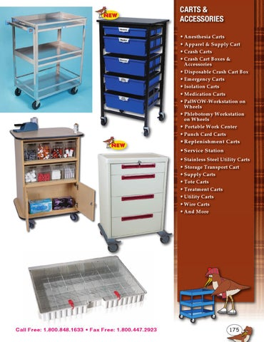 Sand Piper Carts Accessories By Health Care Logistics Issuu