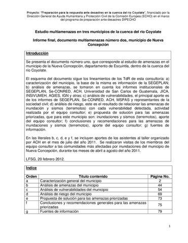 Nueva Concepción by ACH Centroamérica - issuu