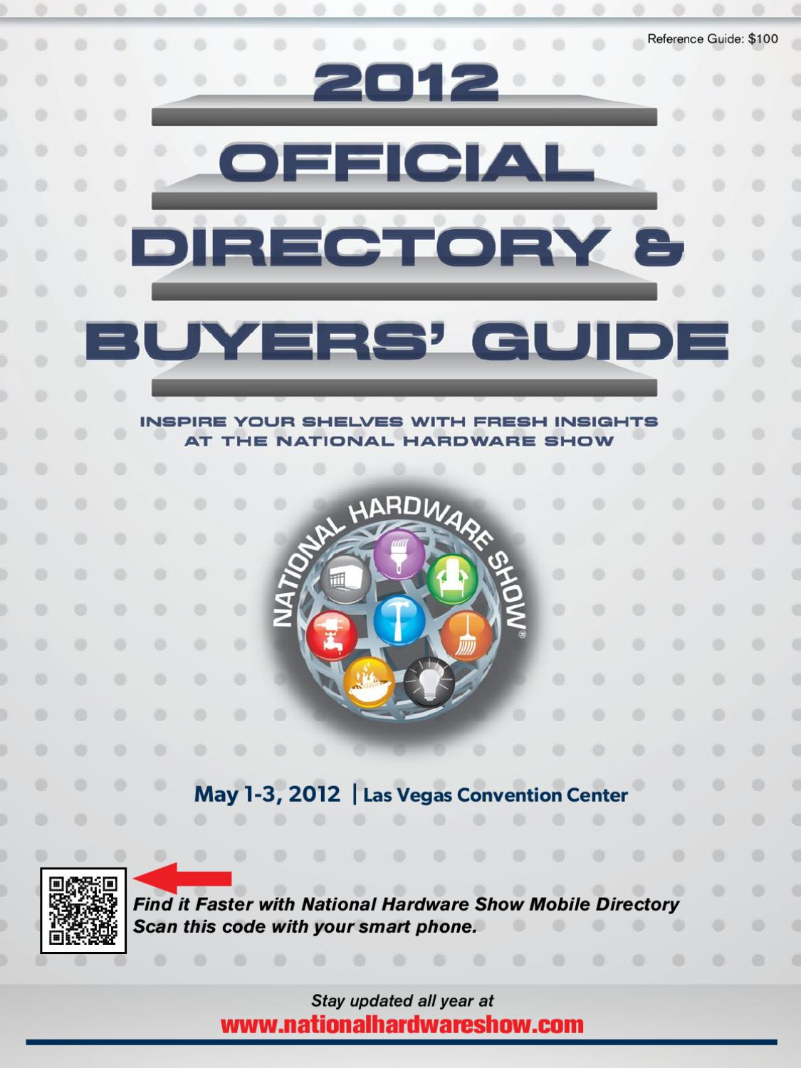 8352c2184 National Hardware Show Directory by Daniel Leibovitch - issuu