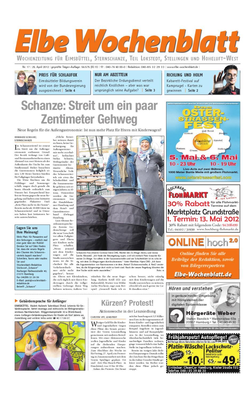 Eimsbüttel KW17 by Elbe Wochenblatt Verlagsgesellschaft mbH & Co KG issuu