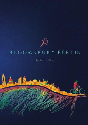 Bloomsbury Berlin Vorschau H E R B S T 2012 By Bloomsbury